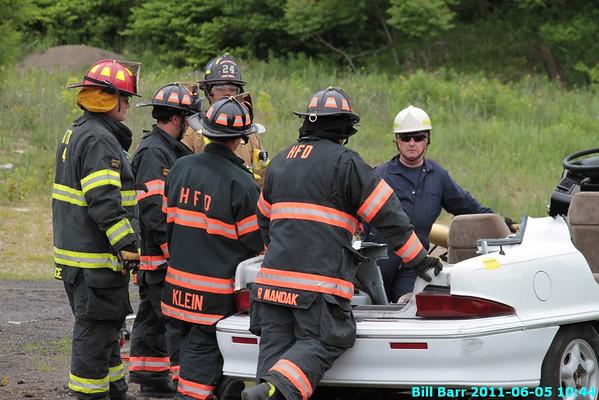 Vehicle Rescue Practice 6/5/11