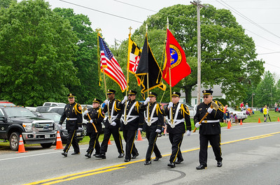 Southern Maryland Volunteer Firemen's Association Parade