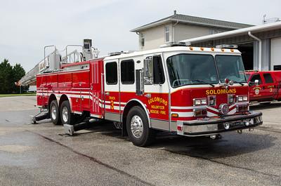 Solomons VRSFD Truck 3 Calvert County MD