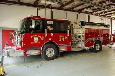 Solomons VRSFD Engine 34 Calvert County MD