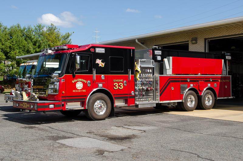 Solomons VRSFD Engine 33 Calvert County MD