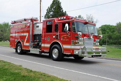 Mechanicsville VFD Engine 222 St. Mary's County MD