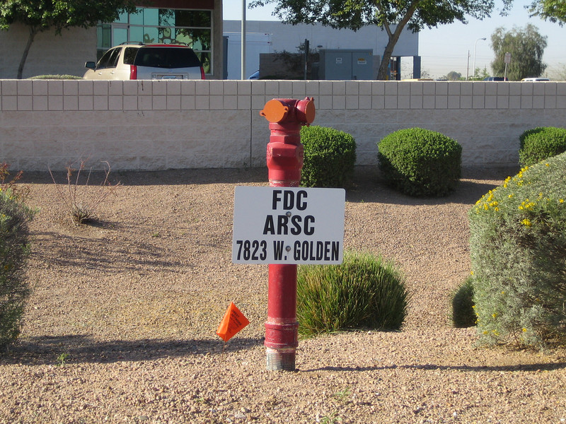 Peoria, AZ FDC with sign