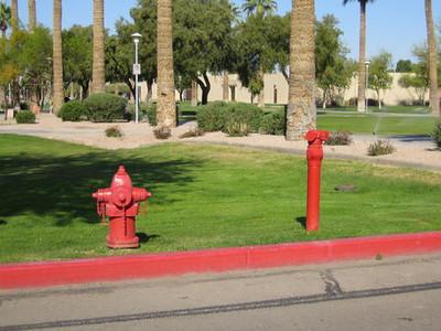 Glendale, AZ FDC and hydrant