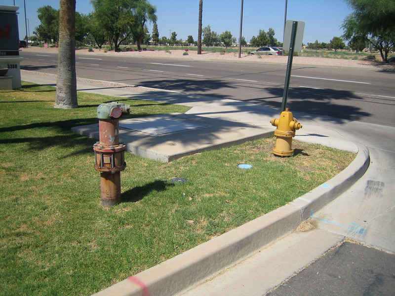 Chandler, AZ FDC and hydrant