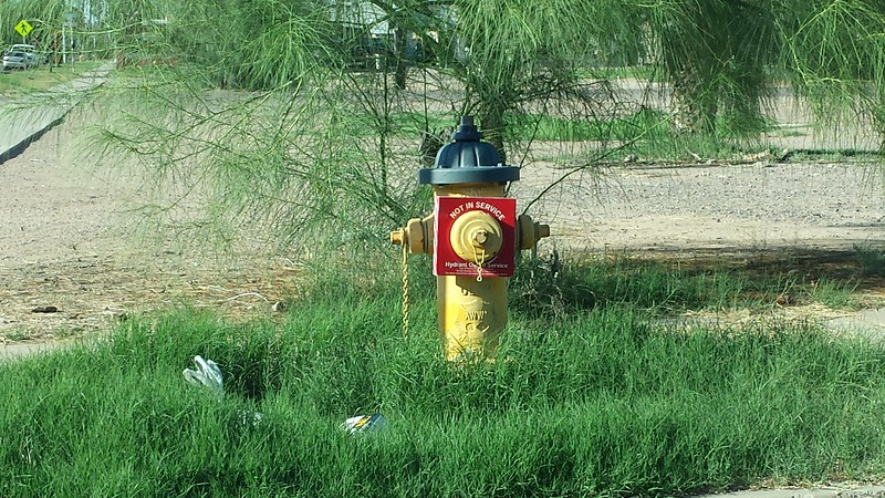 Hydrant PHX oos tag