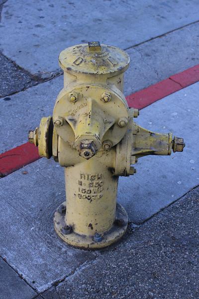 Hydrant LA City FD