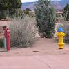 Sedona, AZ FDC, hydrant, indicator valve