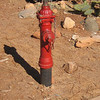 Sedona, AZ 3 inch hydrant at Slide Rock