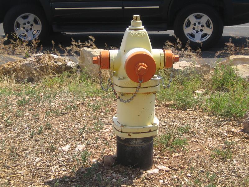 Grand Canyon hydrant