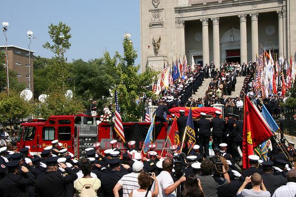 Boston, MA - LODD Funeral for Warren Payne, 9-7-07
