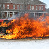 St. Michaels, VT - MVA and Car Fire Demo, 3-29-08 :