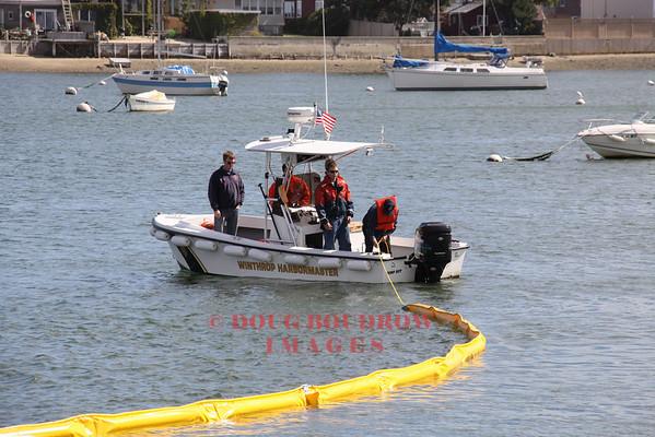 Winthrop, MA - Spill Response Training, 9-25-09