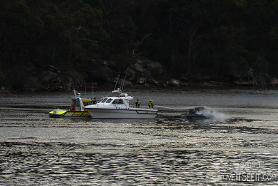 Boat Fire Sugarloaf Bay