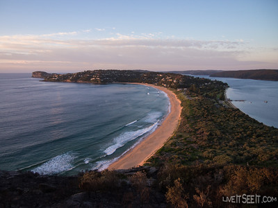 Palm Beach looking stunning in the early light