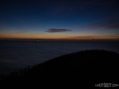 Dawn breaks