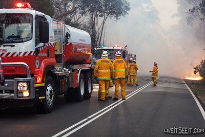 Warringah Bulk Water and Belrose tanker crews