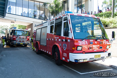P70 Maroubra on scene at Eastgardens