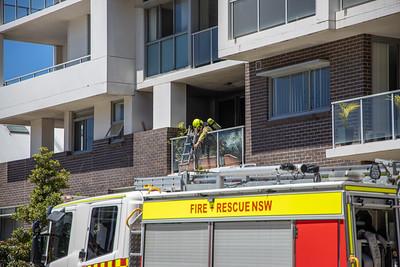 Balcony BBQ Fire, Mascot