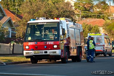 NSWFB Rescue 15 Burwood