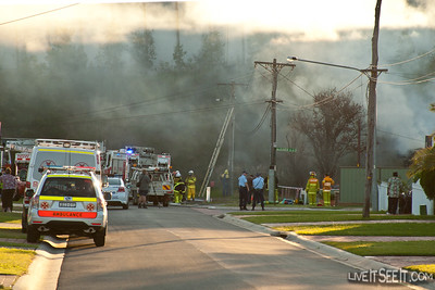 Casula House Fire
