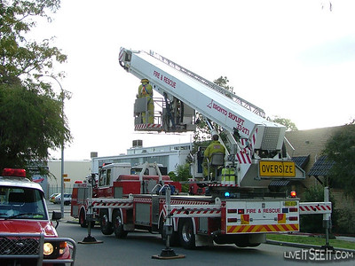 Perth CLP on scene at Studio Fire in Subiaco Perth CLP on scene at Studio Fire in Subiaco  June 2004
