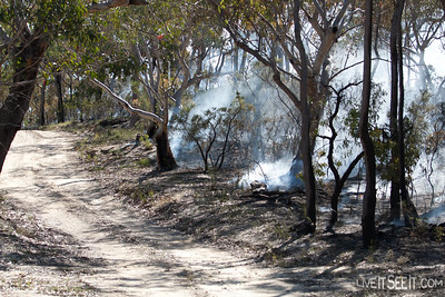 Crews complete burning in the Uniform sector, ensuring a cool burn, to limit the damage to Flora and Fauna
