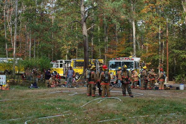 Nov 4th Training Burn Bay District