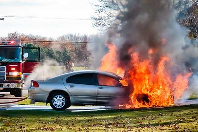 Car Fire - Brook Forest - 11-6-2010