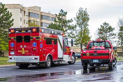 Fatal Fire at Enclave of Novi 4-28-2012