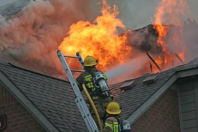 Manhattan Circle Structure Fire