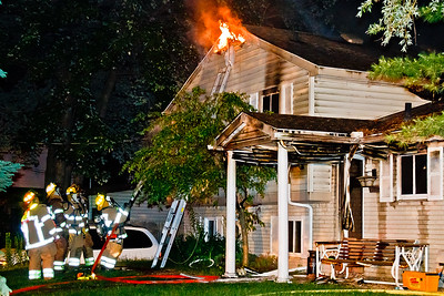 Paramount St. House Fire