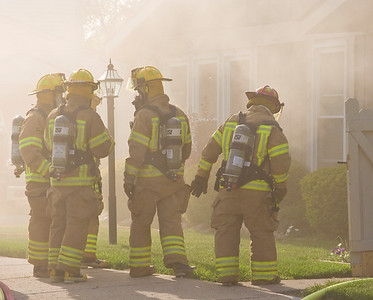 Structure Fire - Village Wood Circle