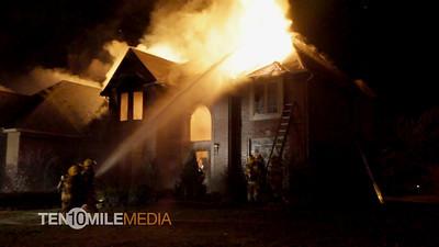 Structure Fire - Wintergreen - 1-10-2012