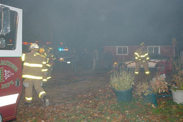 House Fire Sykes Lane