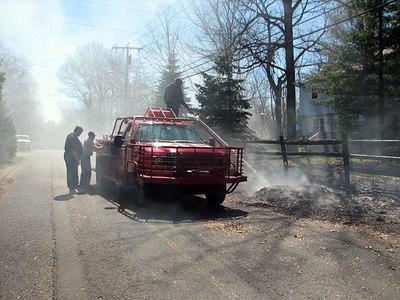 Brush Fire Prosser Avenue