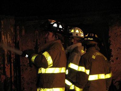 Building Fire Sykes Lane