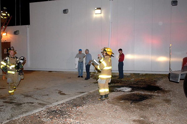 Fire in Roof Snowball Foods