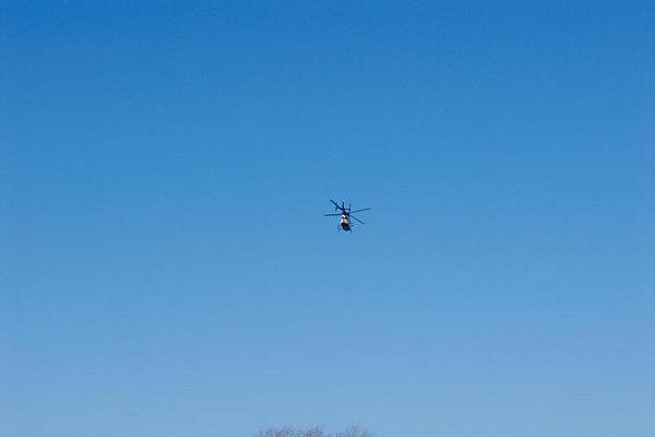 Helecopter Support for Assault Victim