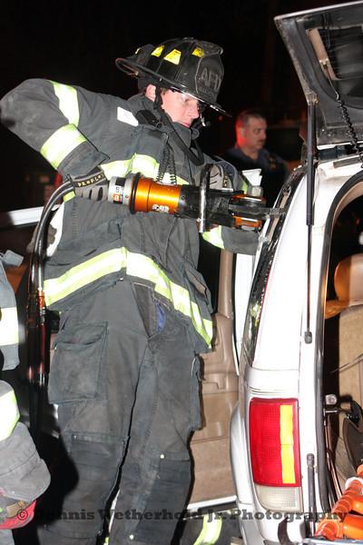11/01/11 - 400 Block Lehigh St - MVA W/Rescue