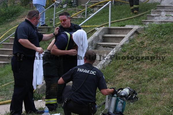 7/22/11 - 337 Hanover Av - 3rd Alarm House Fire