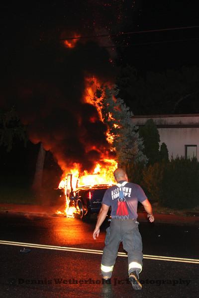 9/5/11 - 1500 Block Hanover Av - Vehicle Fire