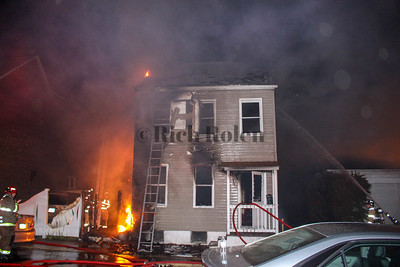 Easton House Fire