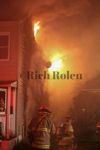 Easton House Fire