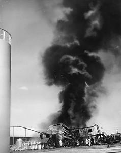 Texaco Refinery Fire