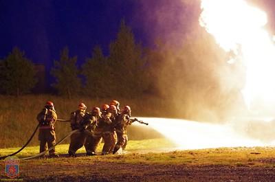 2016 - Fire School - LPG & Car Fire Practicals June 15, 2016