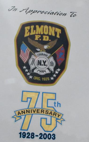 Ex Elmont N.Y. Hook & Ladder Co.2  UNIT 708 .5/11/19