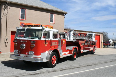 Baltimore City Ladder 49