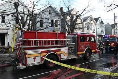 2 Alarm House Fire  Newark, NJ House