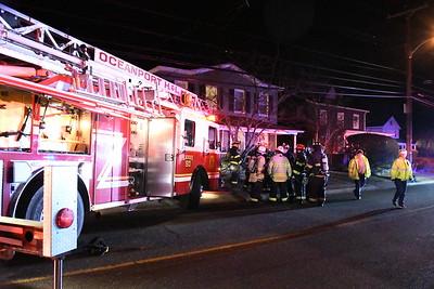Oceanport, NJ Deck Fire